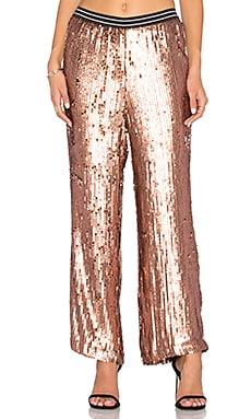So Sexy Sequin Just a Dream Pant in Rose