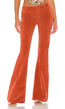 Pull On Cord Flare Pant Free People $78
