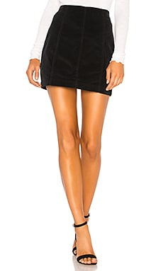 Modern Femme Cord Mini Skirt Free People $50