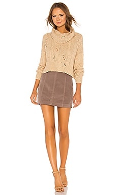 Sale Free People Modern Femme Cord Mini Skirt