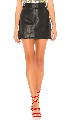 Retro Bodycon Mini Skirt Free People $60