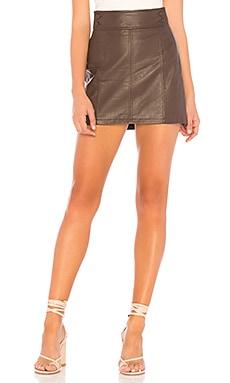 Retro Bodycon Mini Skirt Free People $32