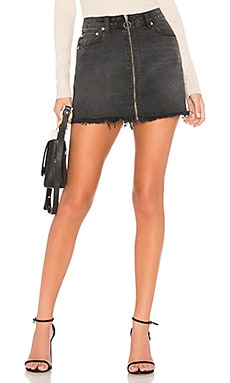 Zip It Up Mini Skirt Free People $60