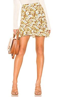Nadia Wrap Mini Skirt Free People $68