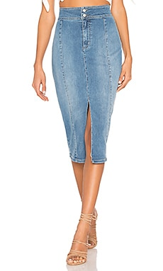 Maddie Denim Midi Free People $88