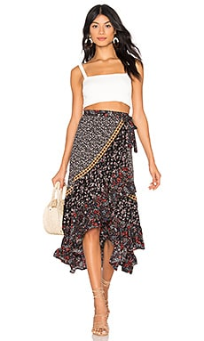 Free People Esmeralda Printed Skirt Coupon