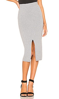 FALDA MIDI SKYLINE Free People $50