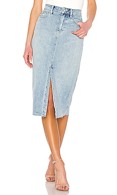 Wilshire Denim Skirt Free People $59