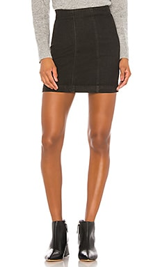 Modern Femme Denim Skirt Free People $50
