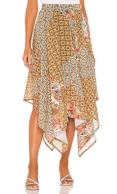 Stay Awhile Maxi Skirt Free People $87