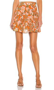 End Of The Island Godet Skirt Free People $52