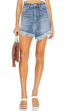 Bailey Denim Mini Skirt Free People $68