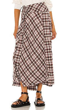 Deep In Thought Maxi Skirt Free People $128