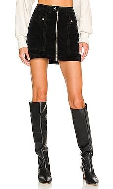 X REVOLVE Zoe Cord Mini Skirt Free People $88