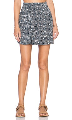 Free People So Much Sun Skirt in Black Combo