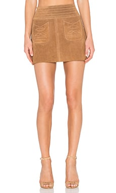 Free People Modern Love Skirt in Beige