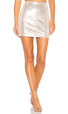 New Modern Femme Vegan Mini Skirt