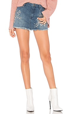 FALDA DENIM SHINE BRIGHT
