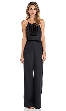 Free People Tuxedo Jumpsuit in Black