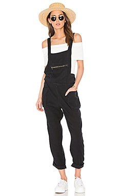 First City One Piece Overall in Black