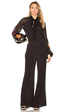 Smoke Ring Jumpsuit in Black
