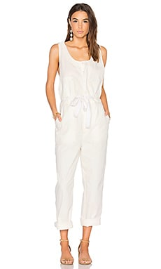 Work It Jumpsuit in Ivory