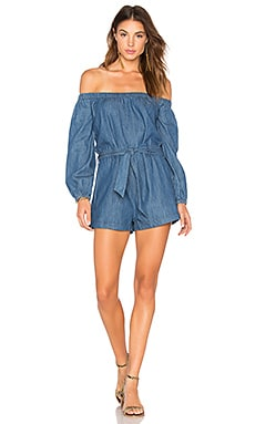 Tangled In Willows One Piece in Dark Denim