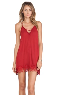 Free People Wicked Spell Dress in Brick