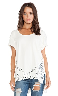 Free People The Stone Tee in Ivory