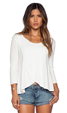 Free People Bonsai Tee in White