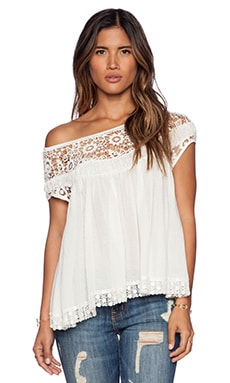 Free People Heart Throb Babydoll in Ivory