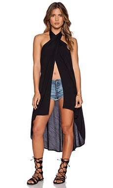 Free People Havana Heat Sarong in Black