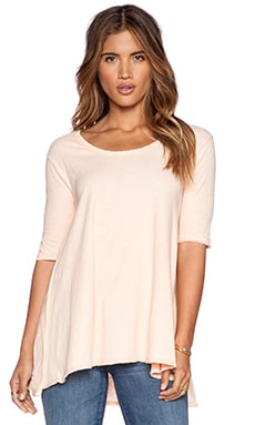 Free People Melrose Tee in Grapefruit