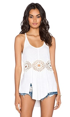 Free People Sundial Tank in Ivory