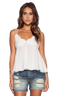 Free People Birds In The Sky Top in Ivory