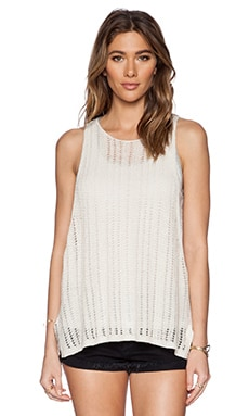 Free People Double Take Tank in Cream