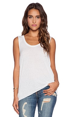 Free People Cruz Cape Tank in White