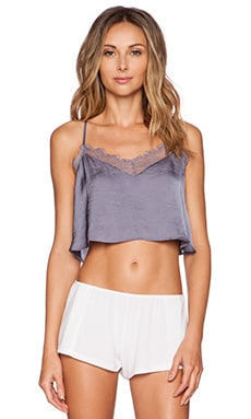 Free People Eclipse Crop Top in Moonlight