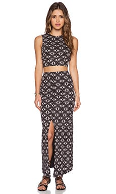 Free People Havana Set in Black Combo