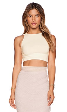 Crop Top in Ivory