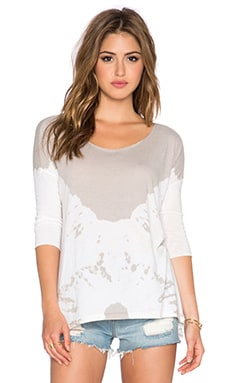 Free People Coastal Tee in Stone