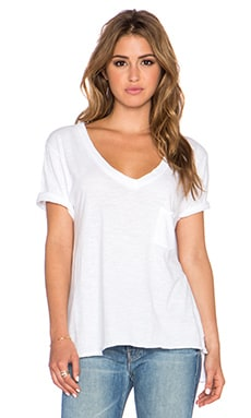 Free People 757 Tee in White