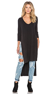 Free People Bad Girls Tunic in Black