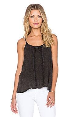 Free People Sheila's Valerie Cami in Black
