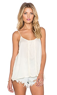 Free People Shiela's Valerie Cami in French Vanilla