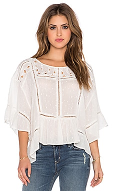 Free People Beautiful Dream Top* in Ivory