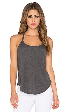 Free People Sweater Rib Kendall Halter in Charcoal