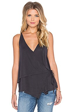 Free People Babetown Tank in Black