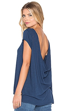 Free People Prairie Tee in Indigo