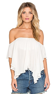 Free People Merpati Top in Ivory
